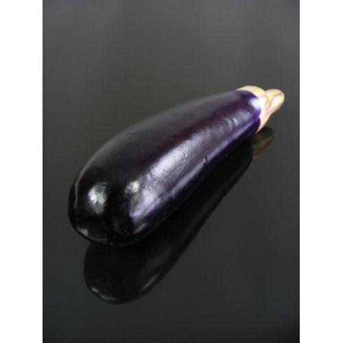 Bakłażan sztuczny 18 cm