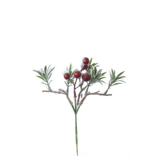 "GAŁĄZKA ""rozmaryn"" owoce 22cm"