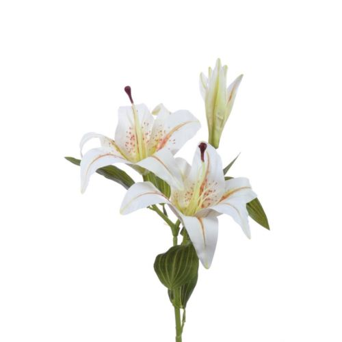 Lilia gałązka x2 natural 85 cm gk133 cream