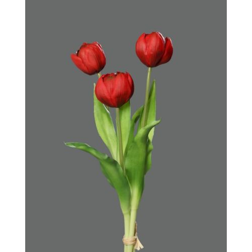 peony-tulip bundle x3 39 cm red z-29,5