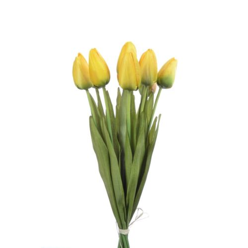 Tulipan 42cm art002 (10szt/bag) yellow
