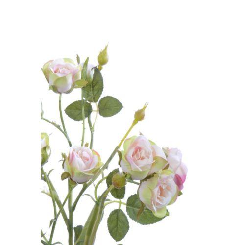 Róża drobna na gałązce 62 cm pink