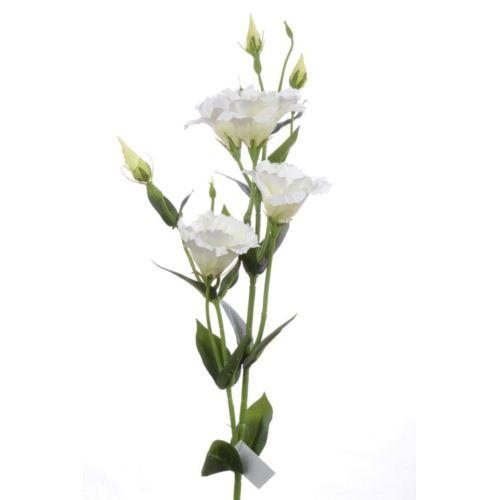 Eustoma gałązka 83cm sun345 white