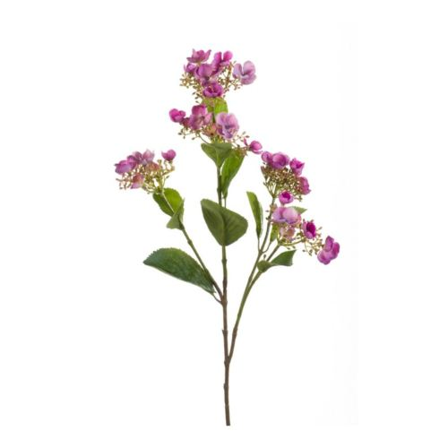 Hydrangea spray 75cm purple