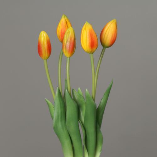 Tulip bundle x 5 45 cm orange 3701-18