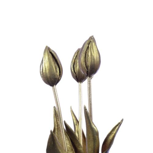 Tulip bud Sally 43cm gold (S)