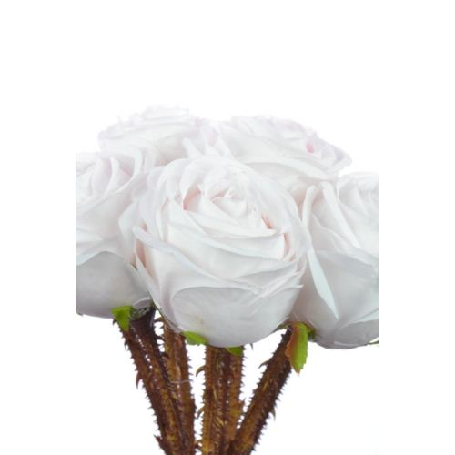 Weding rose busch 35cm sun546 pearl pink