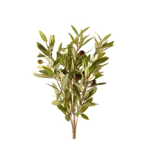 Olive bush x9 35cm green gałązka oliwna