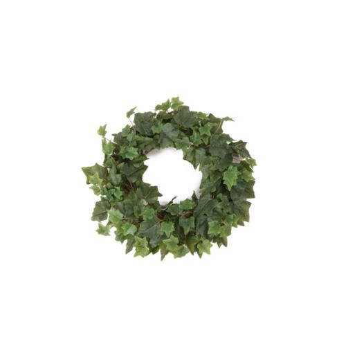 Ivy candle ring d35cm green