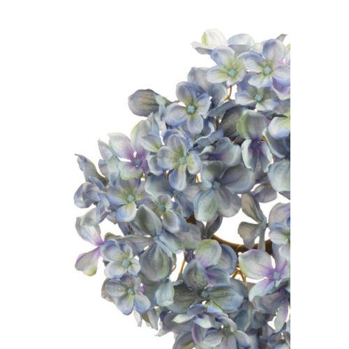 Hortensienkränzchen 22cm blau-lila