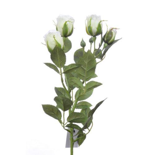 Gałązka róży 70cm SUN544 973 white