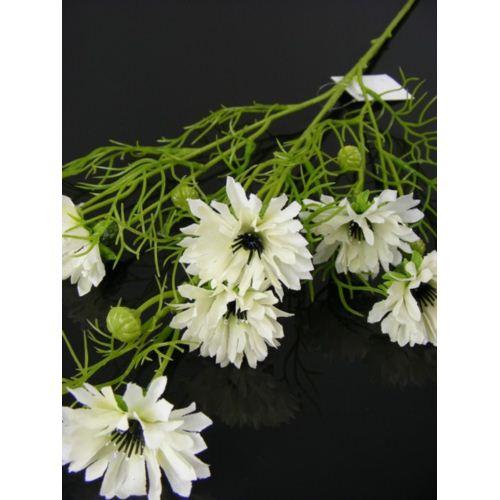 Cornflower spray 70cm 033036 white
