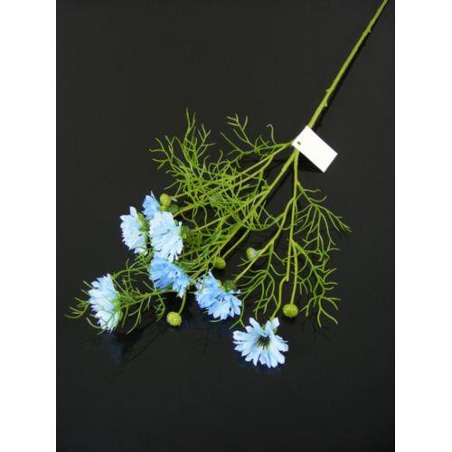 Cornflower spray 70cm 033036 lt blue