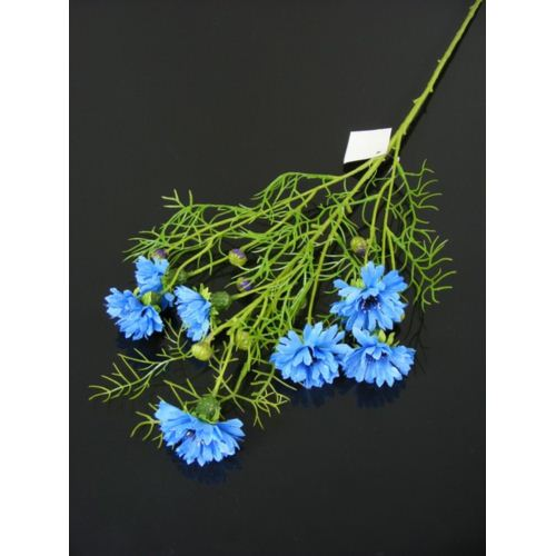 Cornflower spray 70cm 033036 dk blue