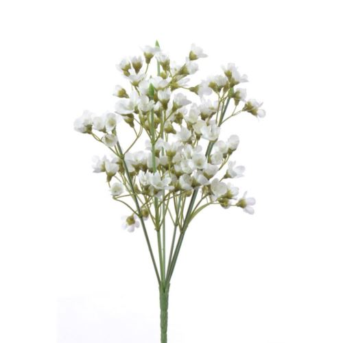 Wax bush x7 28cm liu352 white