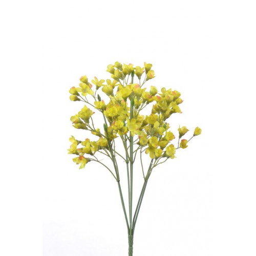 Wax bush x7 28cm liu352 yellow