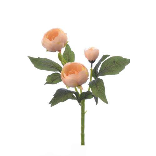 Pełnik gałązka x3 36cm cv07822 peach