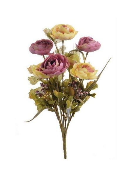 Bukiet kamelek x7 30cm 124can71264 cr violet