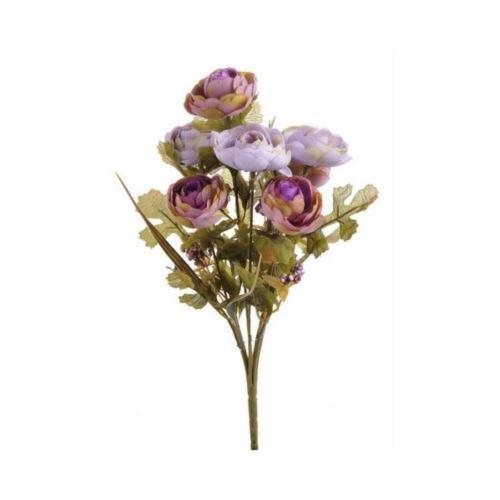Bukiet kamelek x7 30cm 124can71264 violet