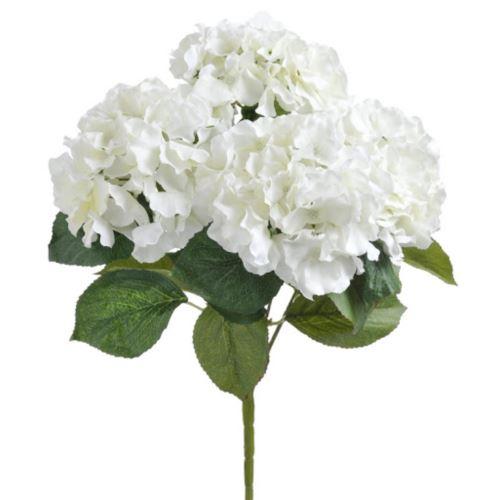Bukiet hortensji x5 48cm  lyb027 white