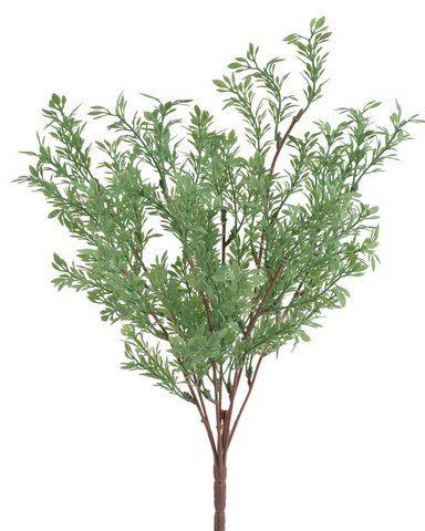 Sztuczna roslina drobne listki 44cm Powder green