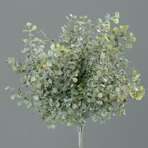 Mint-bush 27 cm frosted/flocked