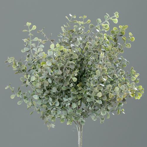 Mint-bush 27 cm frosted/flocked