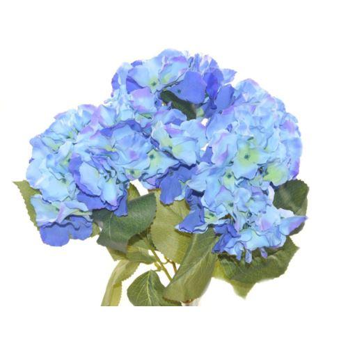 Bukiet hortensji x5 48cm  lyb027  blue
