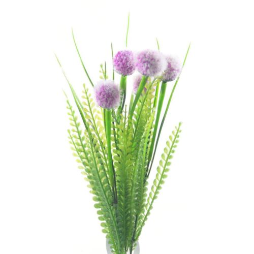 Paproć mini allium x5 38cm pink CV05916