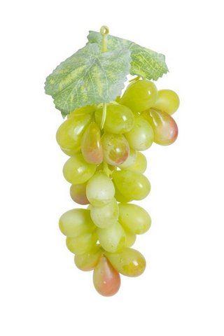 Winogrono sztuczne 18cm 36 owoców zielone