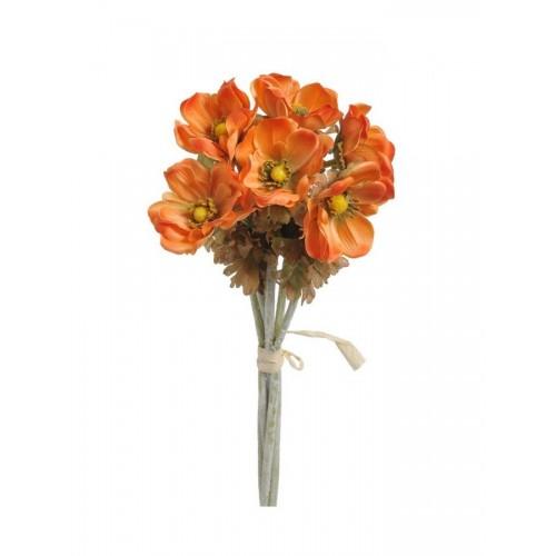 Anemon 6szt/pecz. - sztuczny kwiat