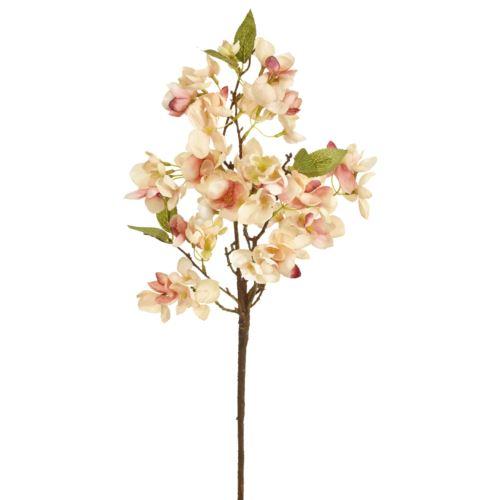 Blütenzweig 8-fach 60cm rose-gem.