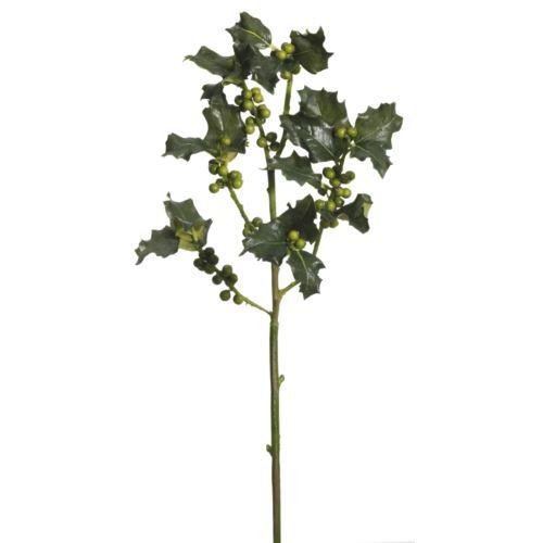 Ilexzweig 57cm grün