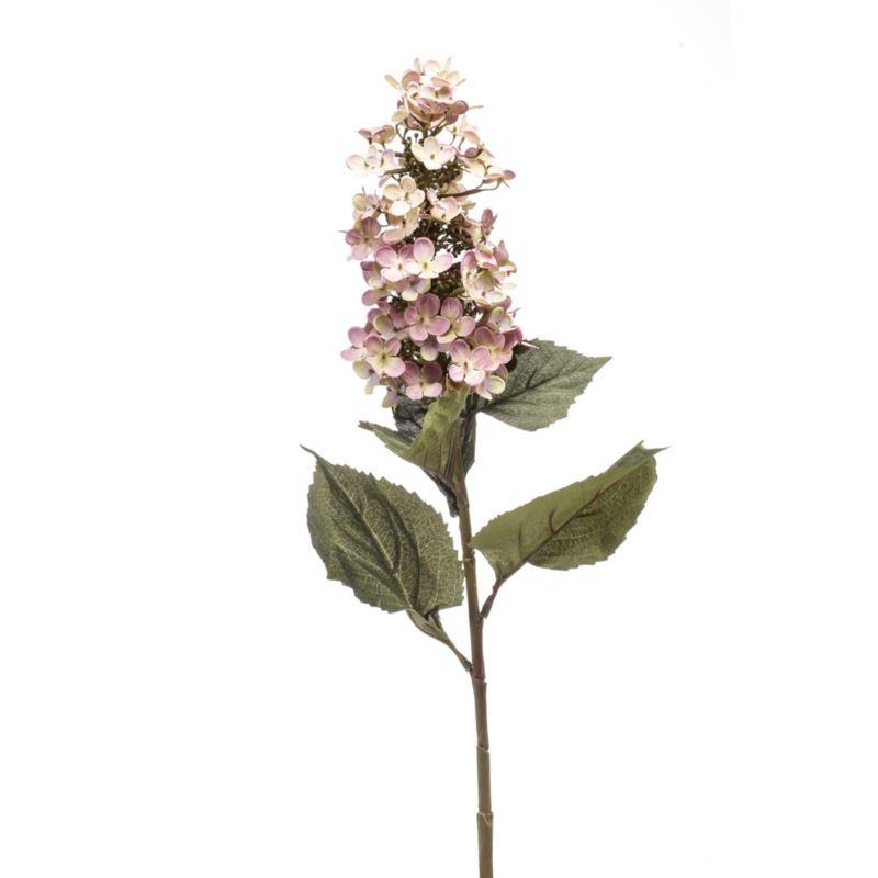Hydrangea spray 90cm lt purple
