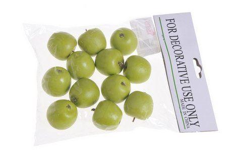 Jablko srednie 12szt/pacz -sztucz. owoc GR 45mm
