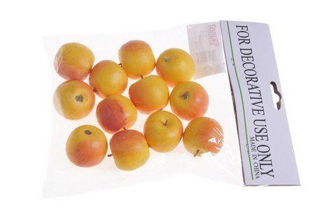 Jablko male 12szt/pacz -sztucz. owoc YL/OR 35mm