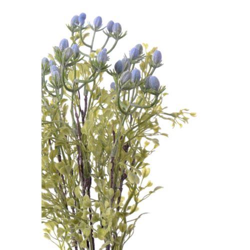 Bukiet dodatek x7 hipericum 34 cm lt blue