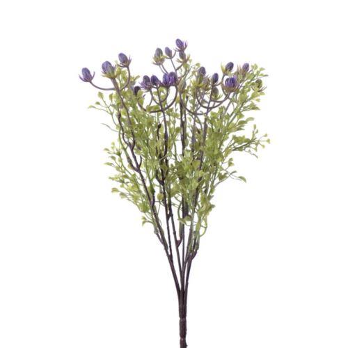 Bukiet dodatek x7 hipericum 34 cm violet