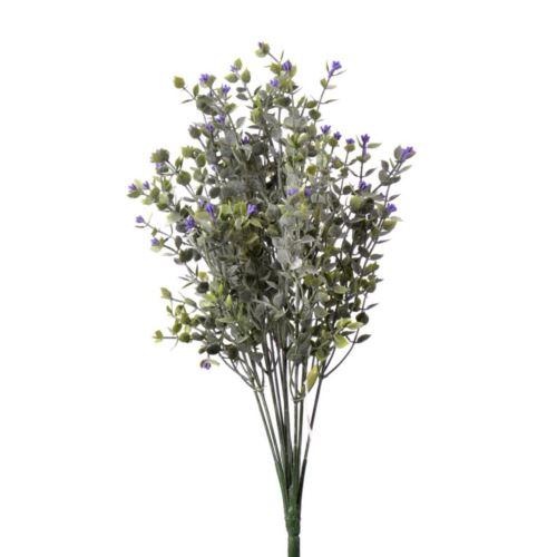 Dodatek drobne  listki x12 42cm violet
