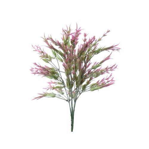 Bukiet dodatek drobne listki 38 cm dirty pink