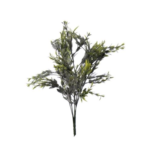 Bukiet dodatek drobne listki 38 cm green