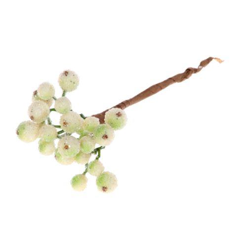 Pik kuleczki 15cm szron cream green