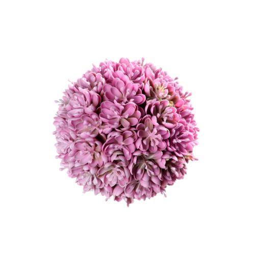 Kulka kwiatki pink