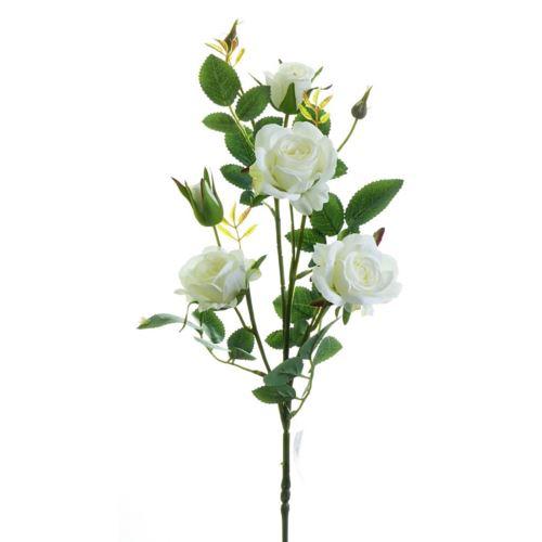 Róża ogrodowa drobna gałązka 72cm xh-29 1 cream