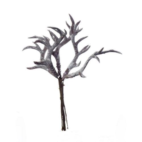 ROGI NA PIKU X 5 18 CM GRAY BROWN GLITTER
