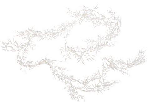 Blyszcząca gałązka GIRLANDA 160cm