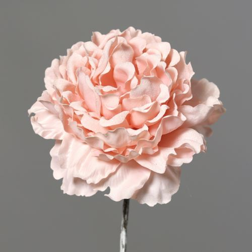 Peonia with Ice 12cm 54 cm pink