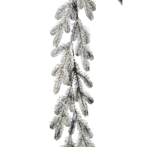 """GIRLANDA """"Świerk śnieg"""" 140cm"""