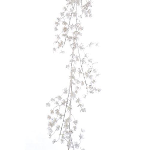 "GIRLANDA ""MODRZEW"" white 140cm"