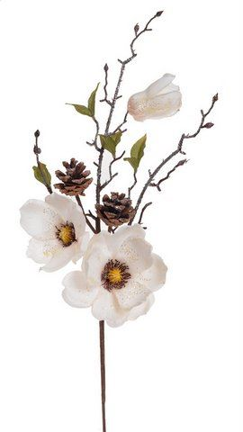 Galazka magnolii brokat